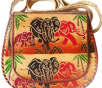 Skórzane torby z Shantiniketan