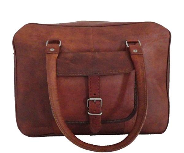 """LH21. Skórzana listonoszka KALASH LESACK™ torba na ramię męska. Rozmiar 15"""""""