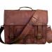 """(24h) LH2681. Skórzana teczka listonoszka SITHAR VINTAGE™ torba na ramię męska. Rozmiar 15"""" (dostawa w 24h)"""