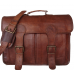 "LH2692. Skórzana teczka listonoszka CORVAIR MARK 2™ torba na ramię męska. Rozmiar 16"""