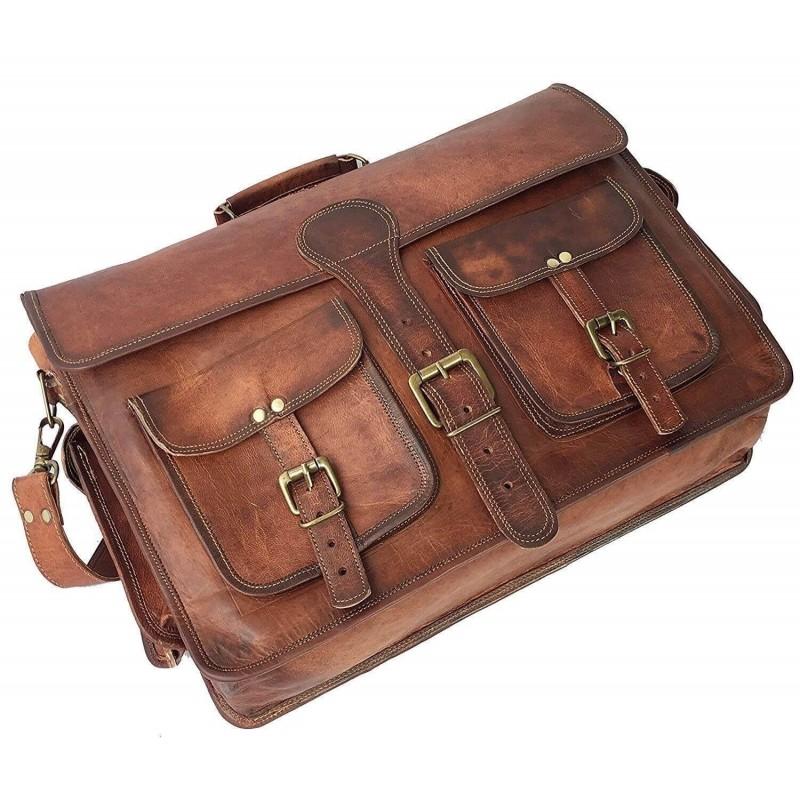 3deeb59f38504 Skórzana teczka listonoszka BUSINESS MARK 4™ torba na ramię męska. Rozmiar  15