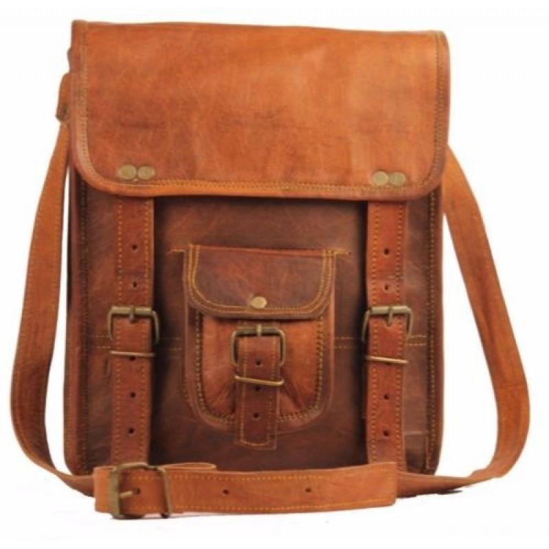 5c658ff09a90a Skórzana raportówka HUNTER 1 LESACK™ torba na ramię męska. Rozmiar 9