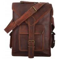 """LH321. Skórzana mała listonoszka BLANC LESACK™ torba na ramię męska. Rozmiar 11"""""""