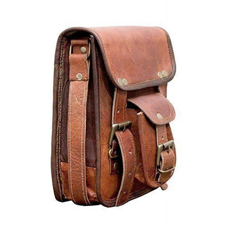 517af6f6f907b Skórzana raportówka HUNTER 2 LESACK™ torba na ramię męska. Rozmiar 11