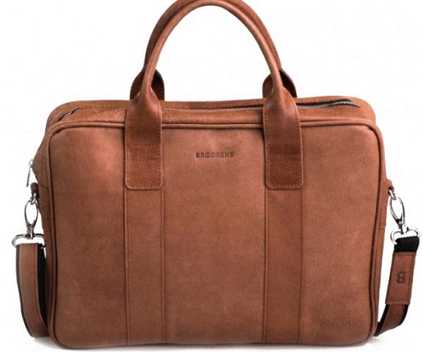 "LHPL1 Skórzana listonoszka NOTEBOOK LESACK™ torba na ramię, notebook. Rozmiar 15"""