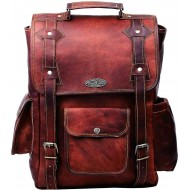 "LC1 Skórzany plecak RONEY LESACK™. Rozmiar 12"""