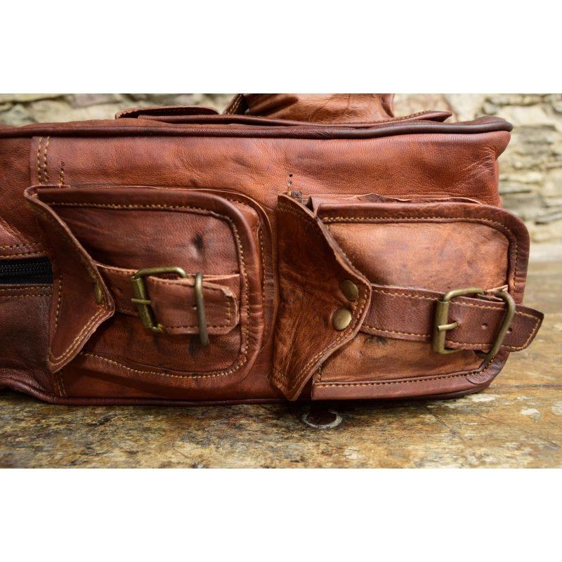 21a4450a84db7 Skórzany plecak VINTAGE PLESS™ Rozmiar 12