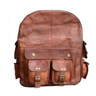 """PLH01. Skórzany plecak  VINTAGE PLESS™ Rozmiar 12"""""""