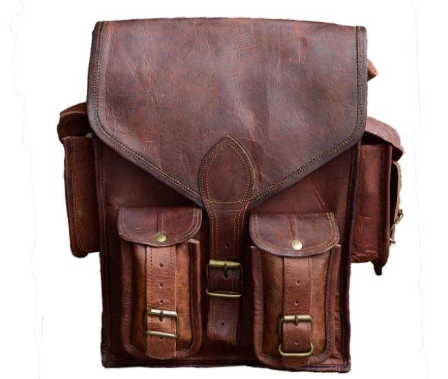 """PLH03. Skórzany plecak VINTAGE JORGOS™ Rozmiar 12,5"""""""