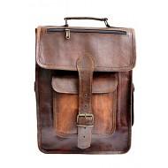 """PLH05. Skórzany plecak VINTAGE BROS™ Rozmiar 11,5"""""""