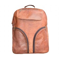 "PLH1. Skórzany plecak  VINTAGE MARCOS™ Rozmiar 12"""
