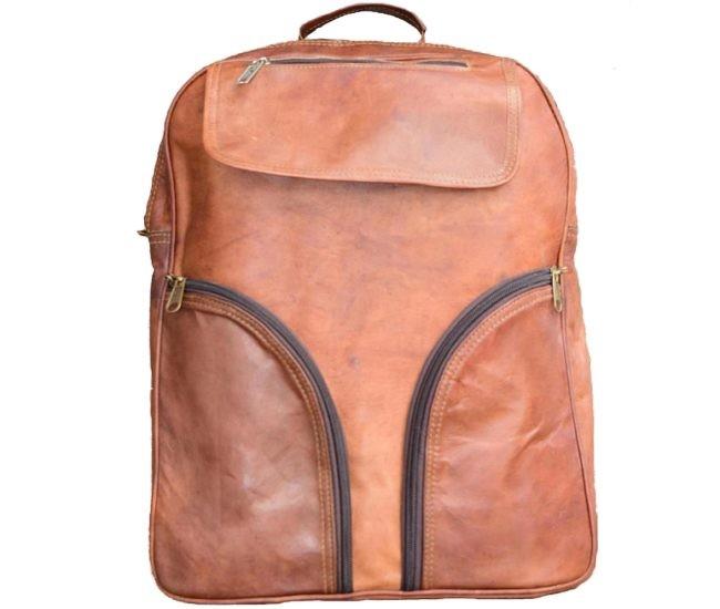 f7848e659d292 Skórzany plecak VINTAGE MARCOS™ Rozmiar 12