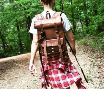 Skórzane plecaki: fakty i mity
