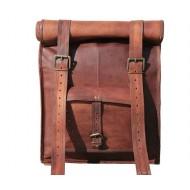 """PLH3. Skórzany plecak VINTAGE PAX™ Rozmiar 17"""""""
