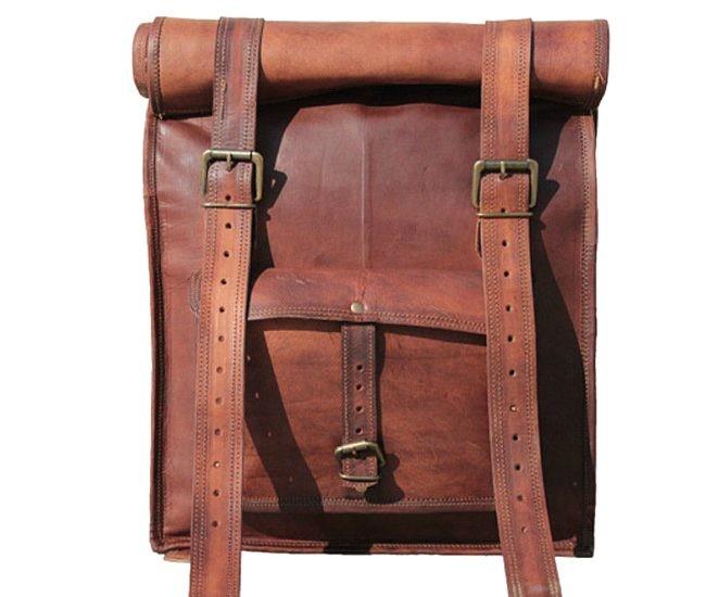 cbc47099934a5 Skórzany plecak VINTAGE PAX™ Rozmiar 17
