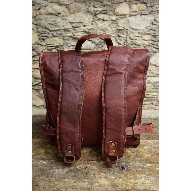 554fd08059cf0 Skórzany plecak VINTAGE PAX™ Rozmiar 13