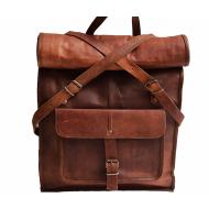 """PLH5. Skórzany plecak VINTAGE PAX 3 ™ Rozmiar 14"""""""