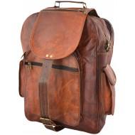 "PLH6. Skórzany plecak RUTHER LESACK™ Rozmiar 13"""