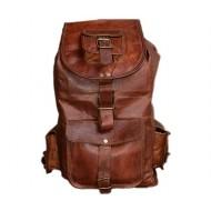 """PLH7. Skórzany plecak VINTAGE SILO™ Rozmiar 9,5"""""""