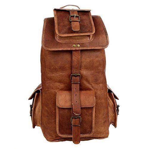 """PLH7. Skórzany plecak VINTAGE RITA™ Rozmiar 16"""""""