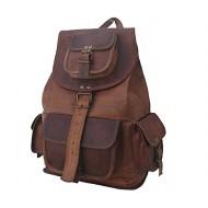 """PLH91. Skórzany plecak VINTAGE RITA™ Rozmiar 9"""""""