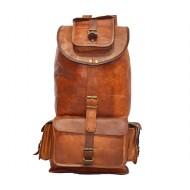 """PLH93B. Skórzany plecak VINTAGE SHERPA™ Rozmiar 16"""""""