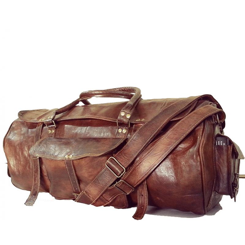 7ca542cfa025e Skórzana torba podróżna plecak