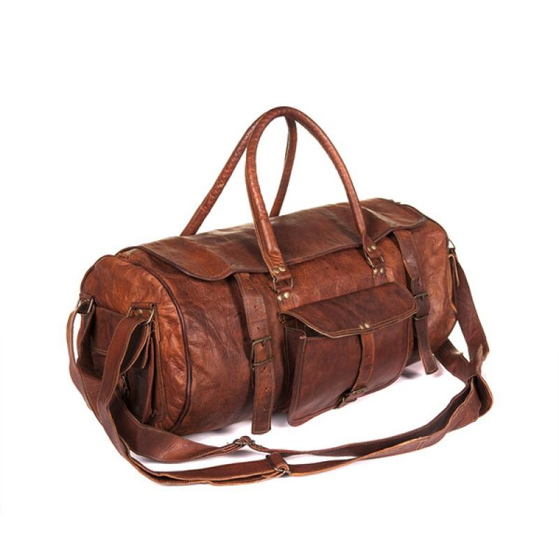 136060fddf668 Skórzana torba podróżna plecak