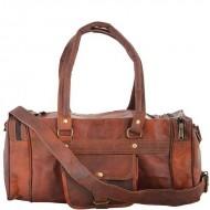 """PH72  Skórzana torba podróżna na ramię """"VINTAGE GOAT™ Rozmiar 16"""" - 22"""""""