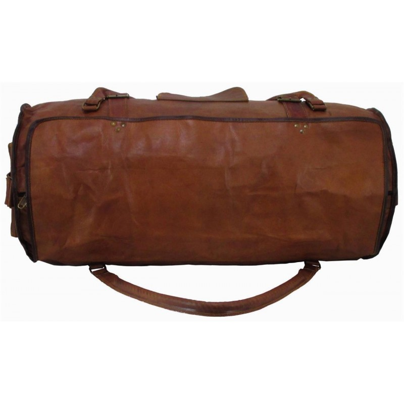 e92d14e1ed256 PH1a Skórzana torba podróżna plecak VINTAGE TRAVELER MAX™ Rozmiary 24