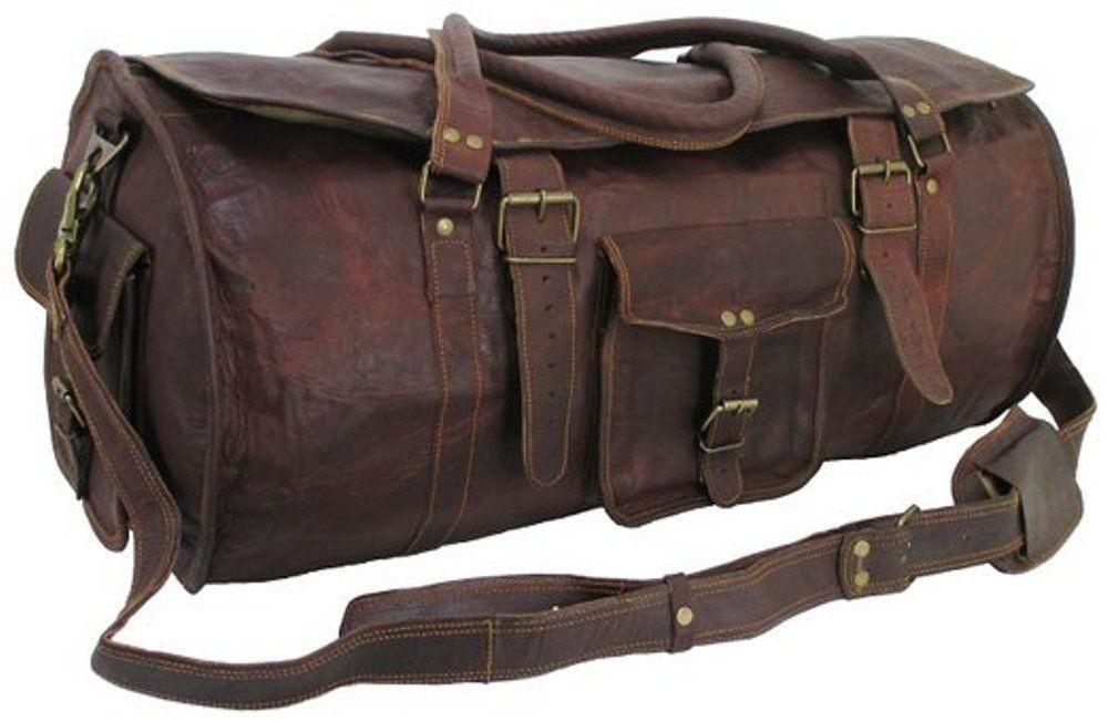 """(24h) PH1a Skórzana torba podróżna plecak VINTAGE TRAVELER MAX™  Rozmiary 24"""" (dostawa w 24h)"""