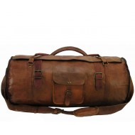 """PH1a. Skórzana torba podróżna plecak """"VINTAGE TRAVELER MAX™  Rozmiary 24"""