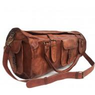 """PH1A. Skórzana torba podróżna plecak """"VINTAGE TRAVELER ONE STRAP™  Rozmiary 24"""" - 30"""""""