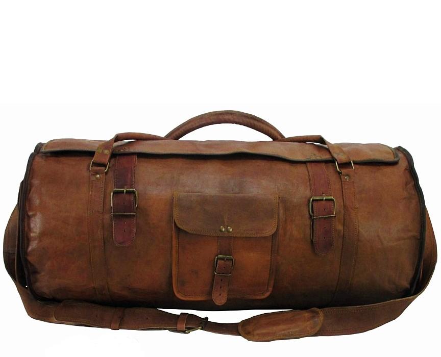 PH1a Skórzana torba podróżna plecak VINTAGE TRAVELER MAX™  Rozmiary 24