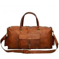 """PH3. Skórzana torba podróżna na ramię TRADITIONAL HOLDALL ™  Rozmiar 22"""" - 24"""""""