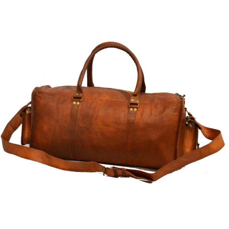 2173c668225d6 Skórzana torba podróżna na ramię TRADITIONAL HOLDALL ™ Rozmiar 22