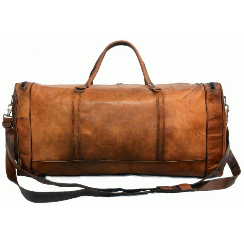 c69f18e31381a Skórzana torba podróżna męska na ramię VINTAGE JAIPUR MAX™ Rozmiar  28