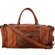 """PH6. Skórzana torba podróżna na ramię VINTAGE ADVENTURE MAX™  Rozmiary 20"""" - 30"""""""