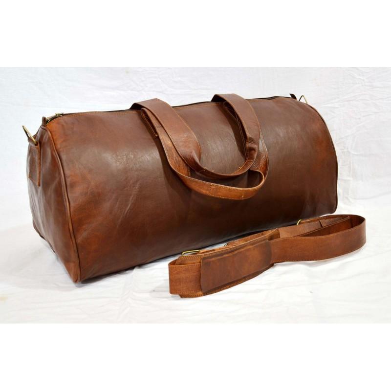 1013b0470ac48 ☆ URBAN SAFARI™ Skórzana torba na ramię podróżna vintage damska   męska