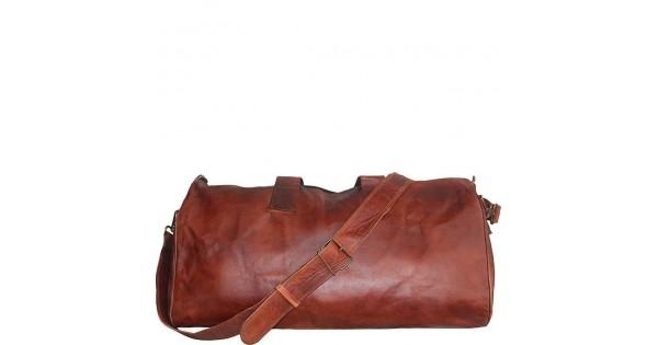 ee01adeb89901 ☆ SAFARI™ Skórzana torba na ramię podróżna vintage damska   męska