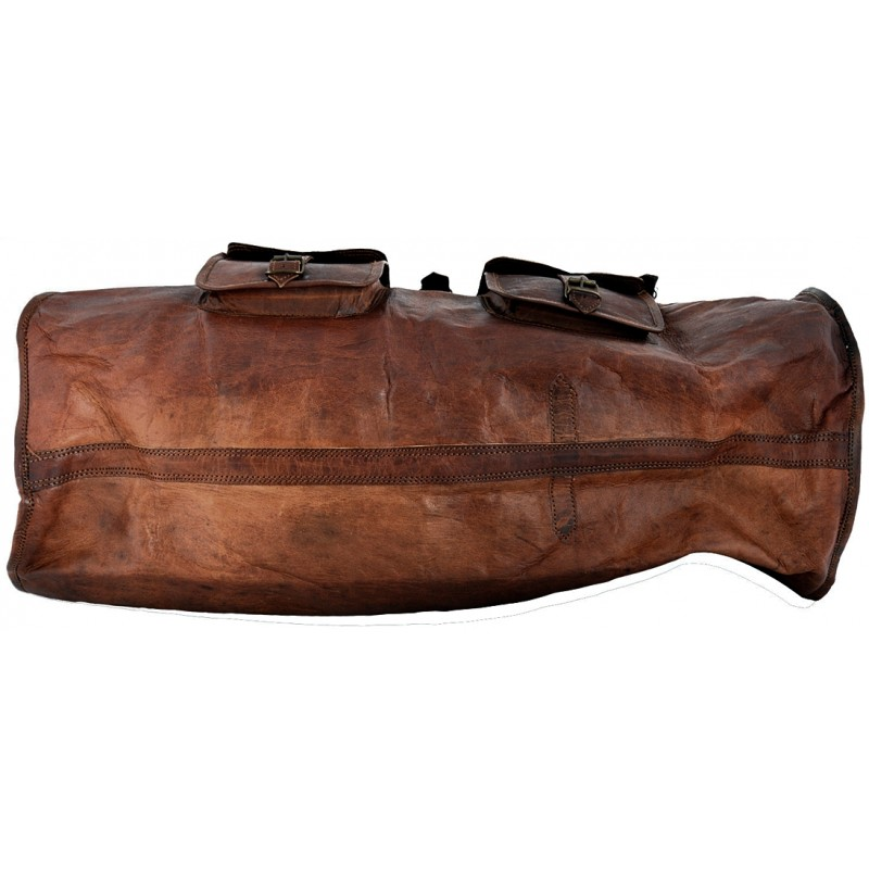 5efad35977af3 Skórzana torba podróżna na ramię