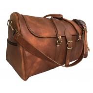 """PH998 TRIANGULAR II LESACK™ Skórzana torba podróżna na ramię. Rozmiar 24"""""""
