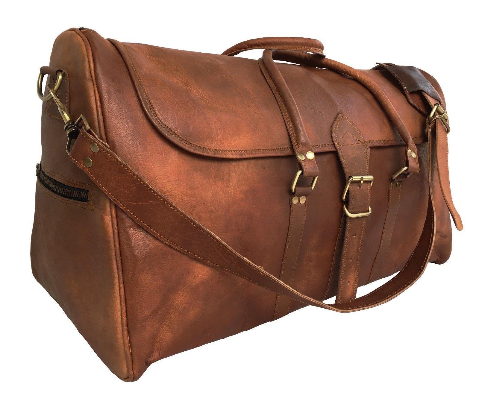 805e1d9a0f2be ... 28f98468f4ee4 PH998 TRIANGULAR II LESACK™ Skórzana torba podróżna na  ramię.