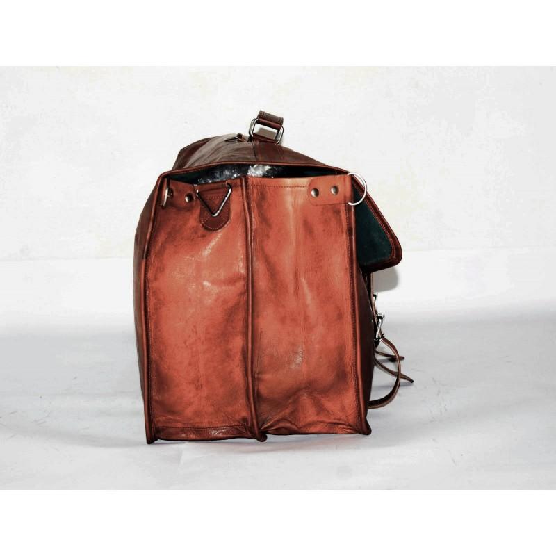 4b6b85143db47 1bc0d9bbc715f ☆ COSHWORTH™ Skórzana torba podróżna na ramię męska damska ...