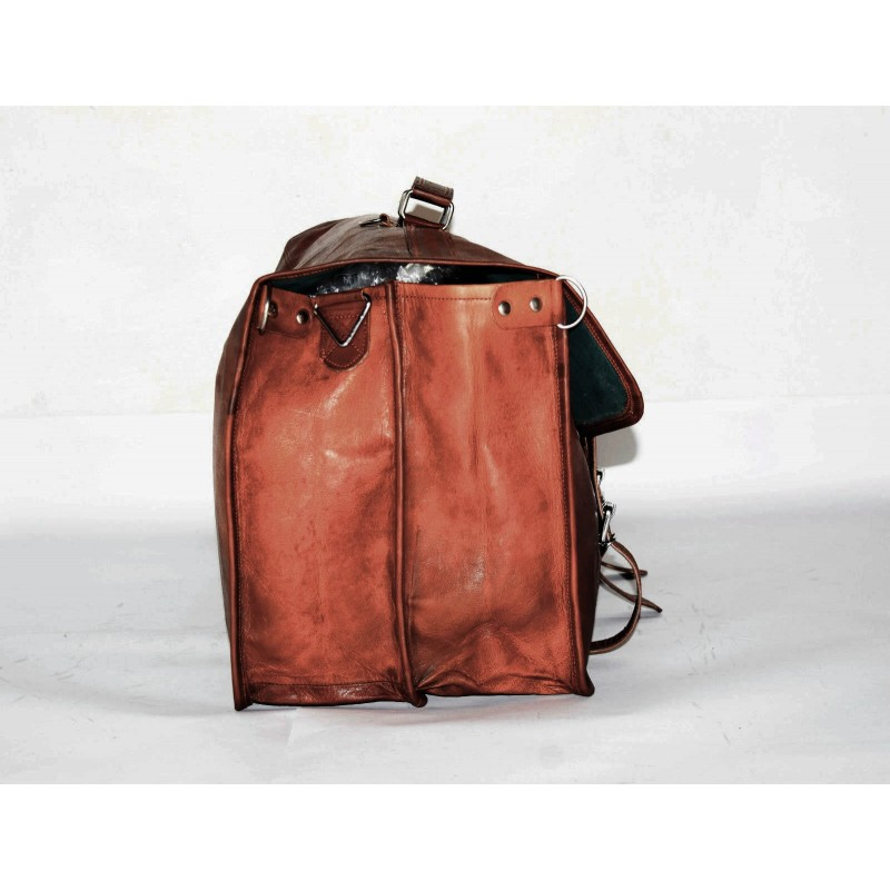 81a02ccf97f4a 1bc0d9bbc715f ☆ COSHWORTH™ Skórzana torba podróżna na ramię męska damska ...
