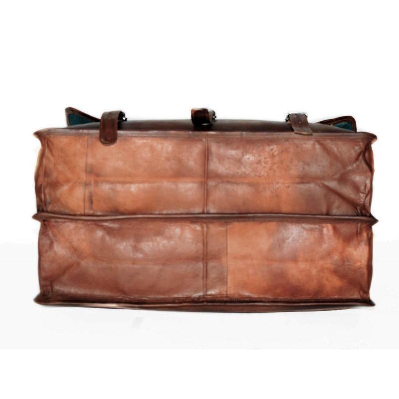 1bc0d9bbc715f ☆ COSHWORTH™ Skórzana torba podróżna na ramię męska   damska