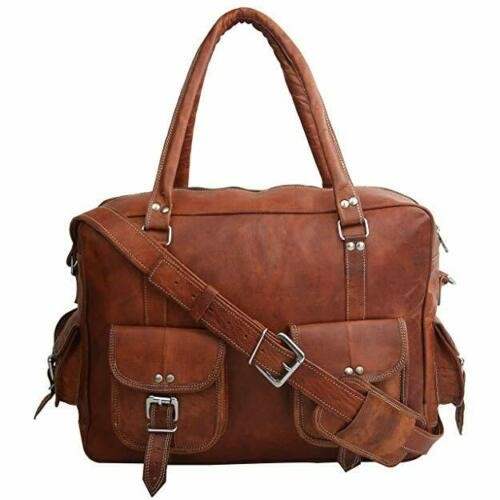 """PK6. COLUMBO VINTAGE™ Skórzana torba podróżna na ramię. Rozmiar 13"""""""