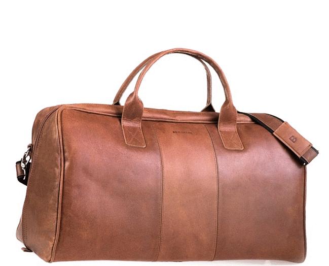 5cff80c1950fe Skórzana torba podróżna na ramię męska   damska Rozmiar 21