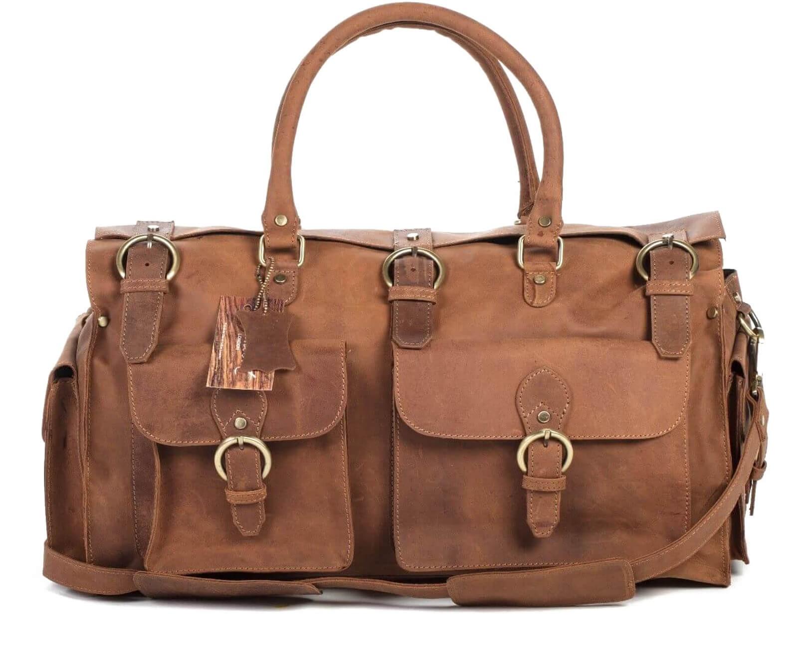 845cdcc404ef1 ☆ PM2 SADDLE TRAVELER™ skórzana torba podróżna na ramię w stylu ...