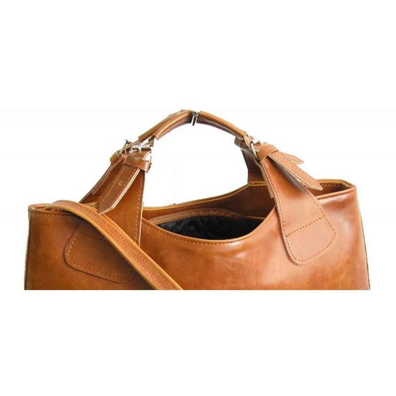 d4b4377b8fd27 ☆ SHOPER™ Skórzana torebka damska na ramię. Skóra naturalna vintage A4